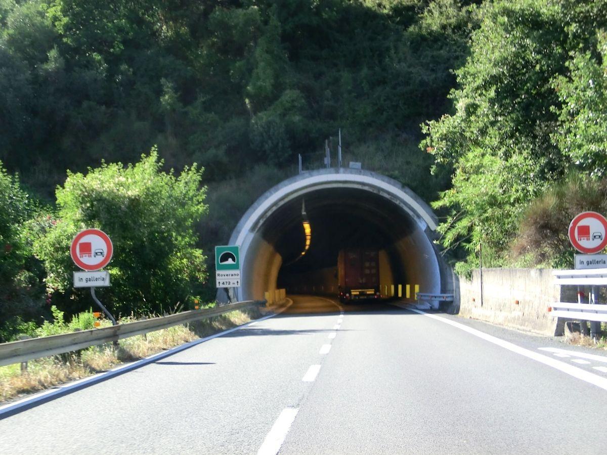 Roverano Tunnel eastern portal