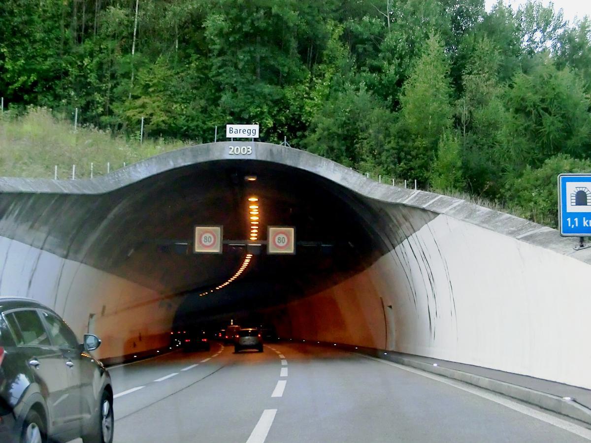 Baregg Tunnel (2003) eastern portal