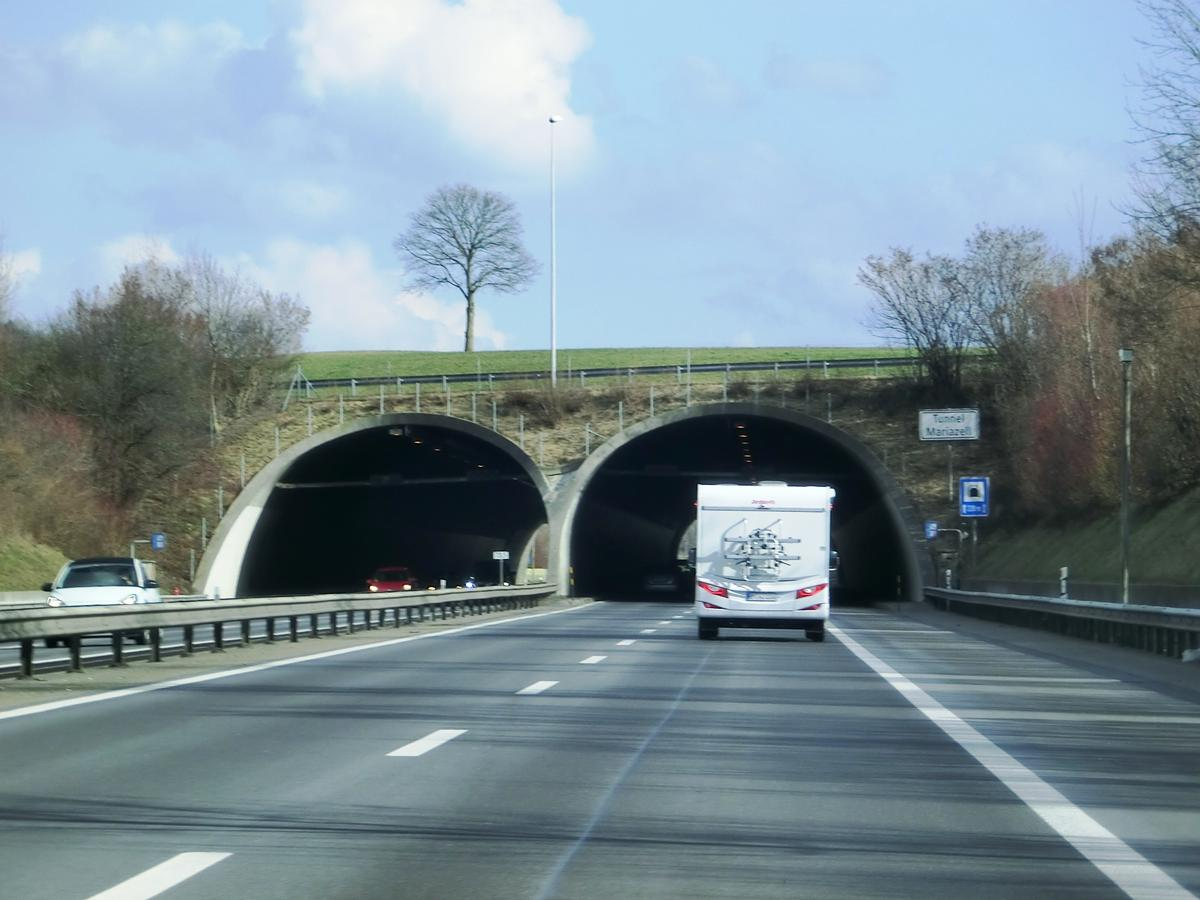 Mariazell Tunnel northern portals