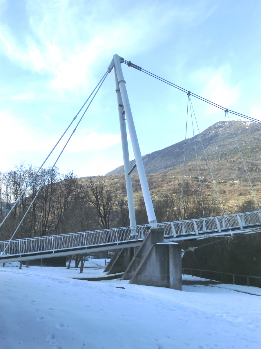 Geh- und Radwegbrücke Albosaggia
