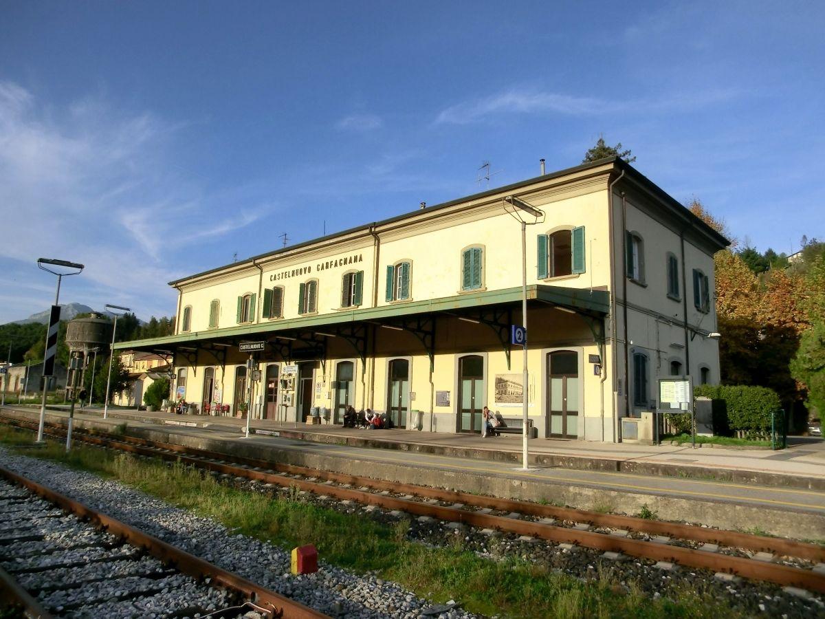Bahnhof Castelnuovo Garfagnana