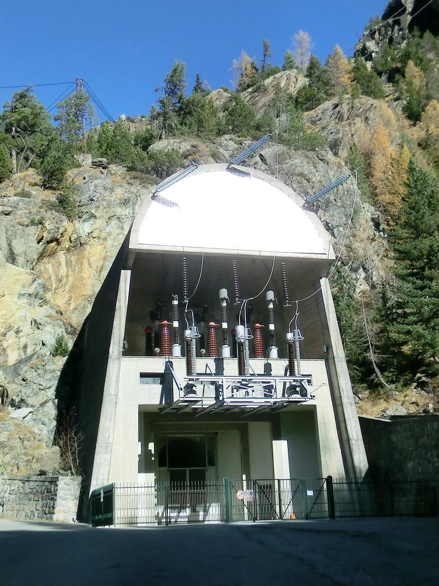 Campo Moro Power Plant access tunnel portal