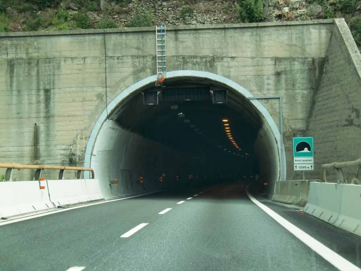 Monte Castelletti Tunnel western portal