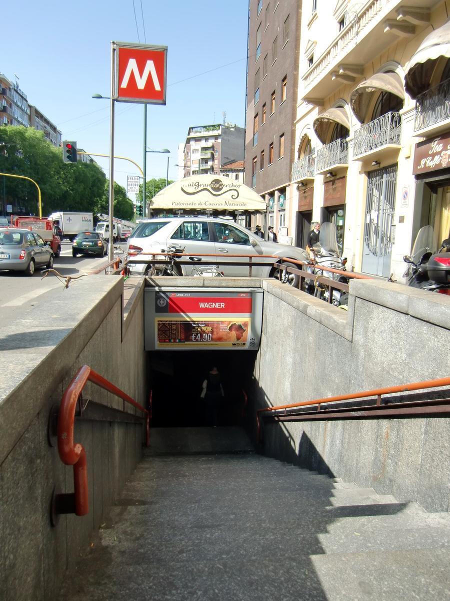 Gare de métro Wagner