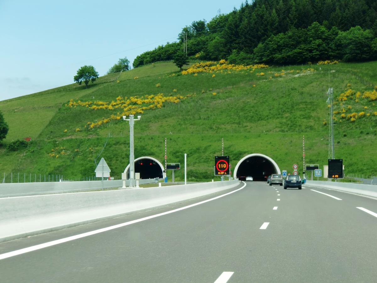 Chalosset Tunnel western portals