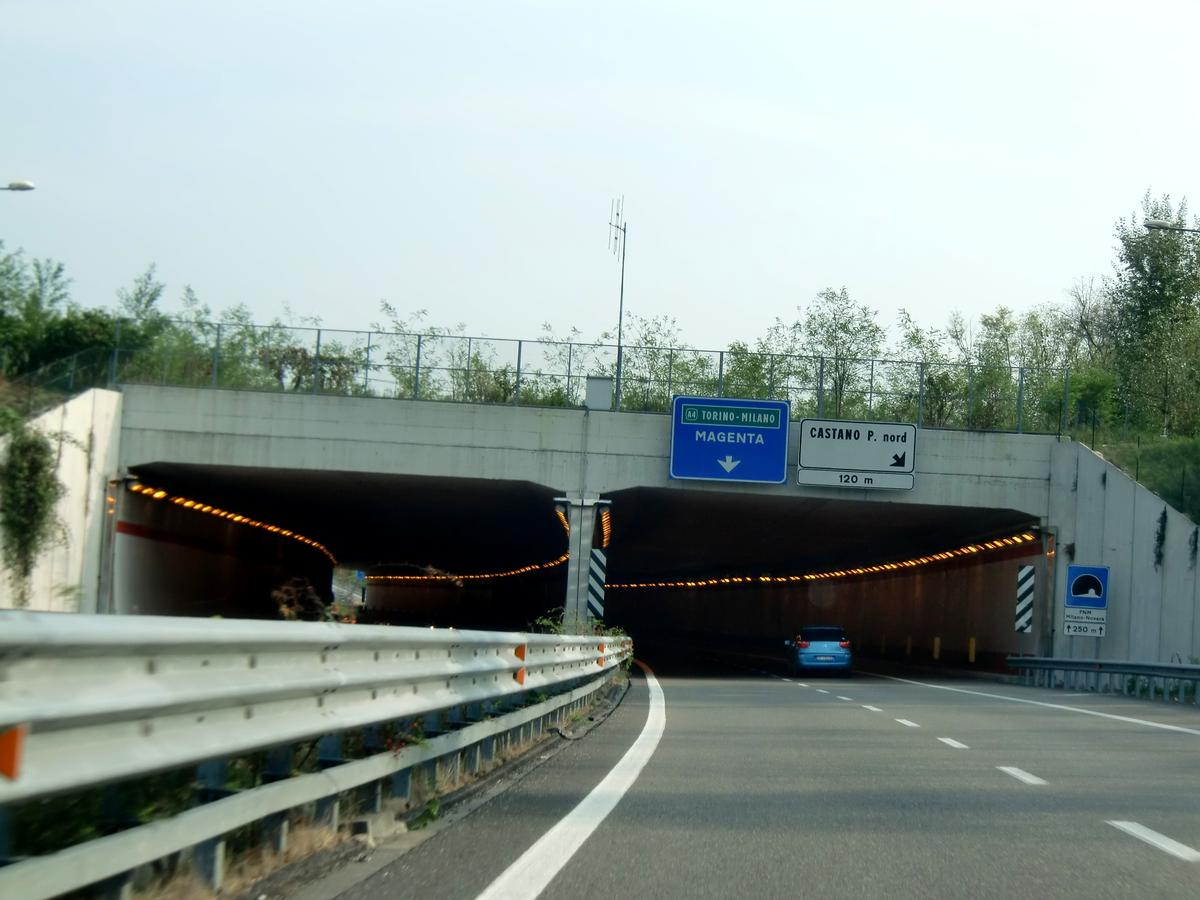 FNM Milano-Novara Tunnel, northern portals