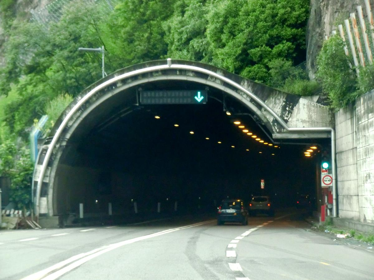 Lovere Tunnel, northern portal