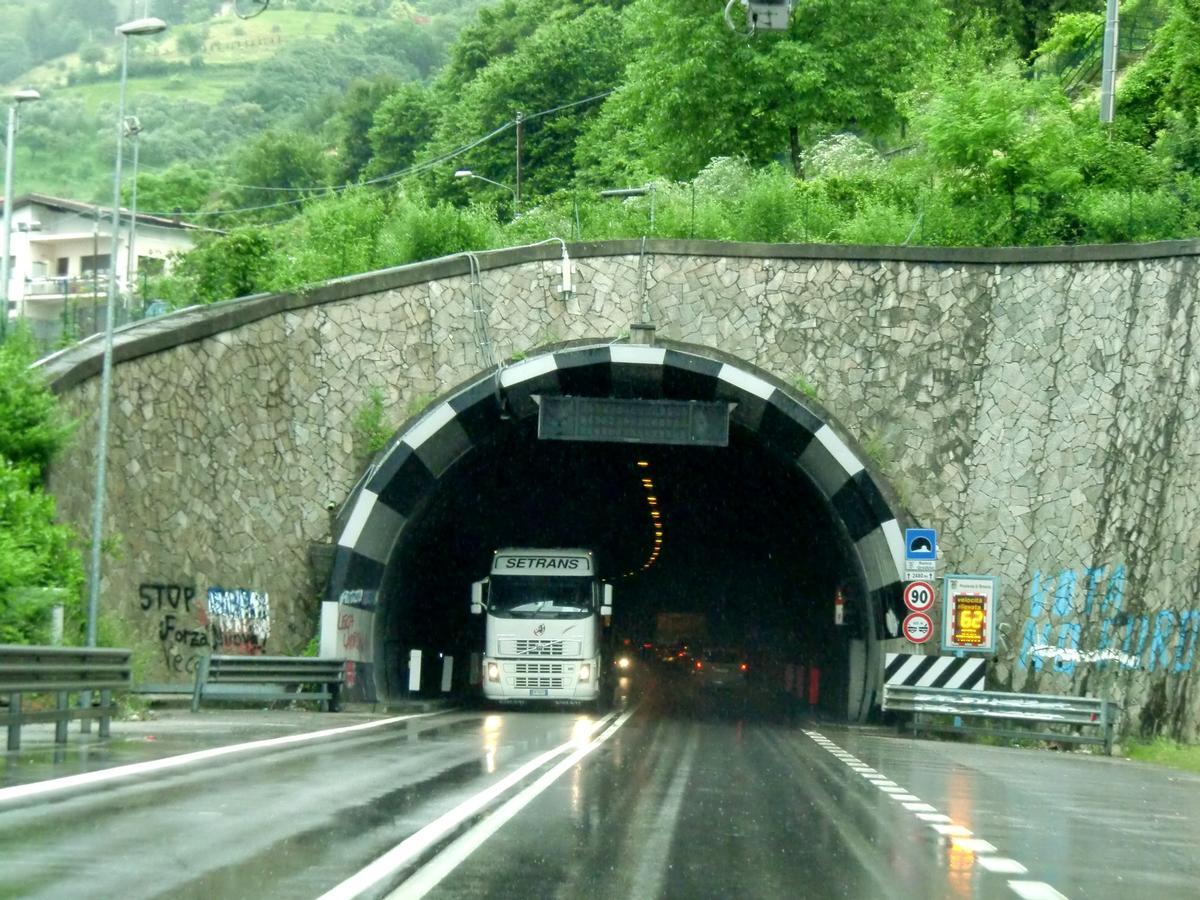 Ronco Graziolo tunnel, southern portal