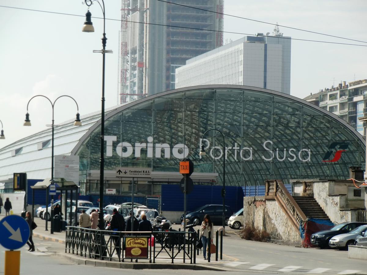 Gare de torino porta susa turin 2012 structurae - Stazione treni torino porta susa ...