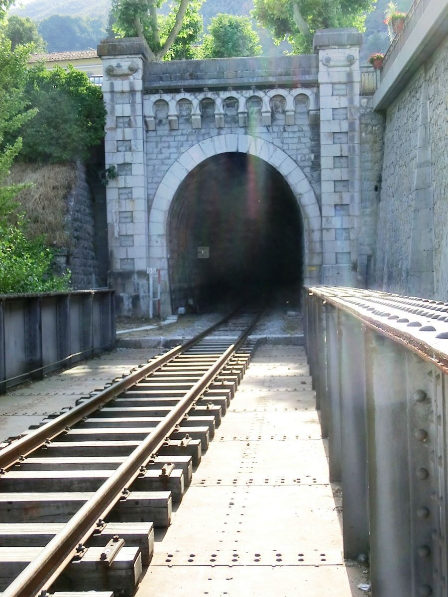 Entrevaux Railroad Tunnel I eastern portal
