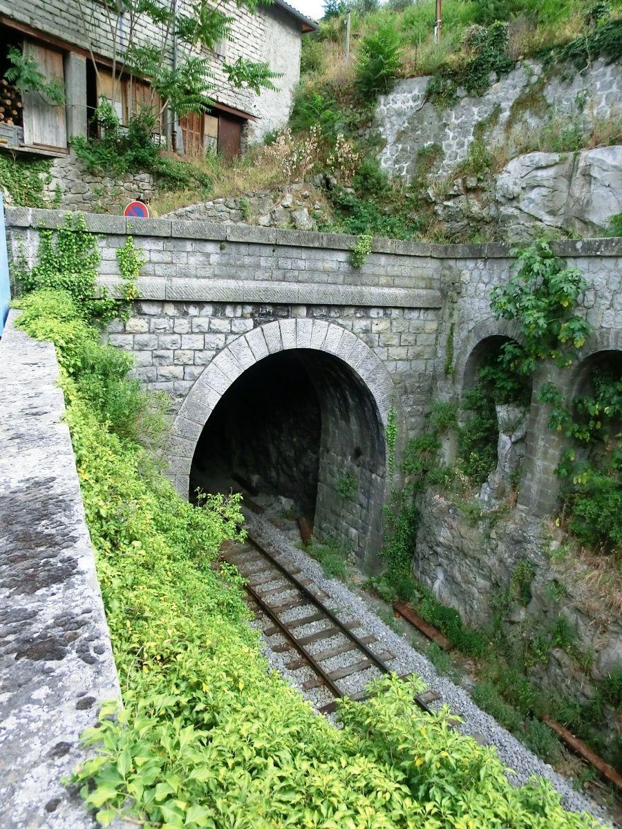 Entrevaux Railroad Tunnel I western portal