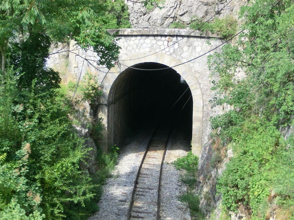 Malaussène Tunnel western portal