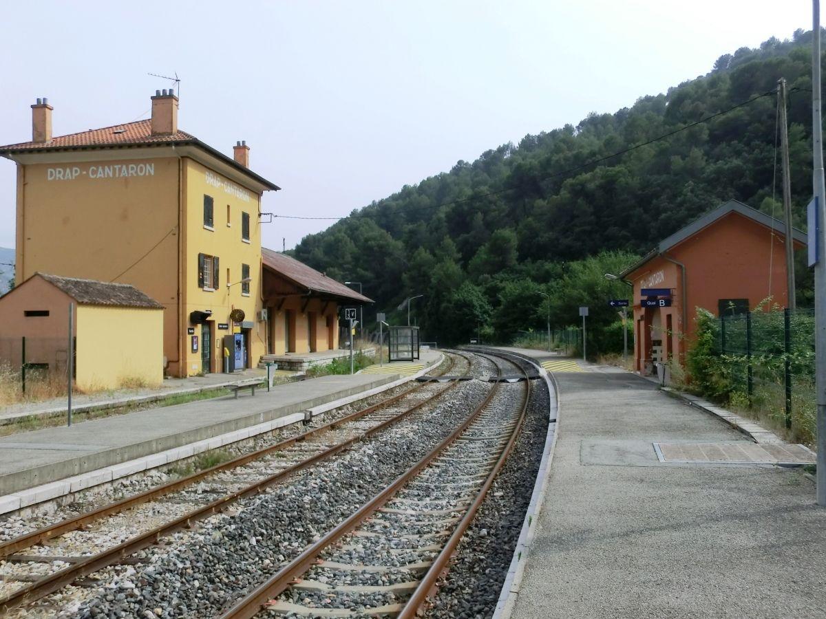 Bahnhof Drap-Cantaron