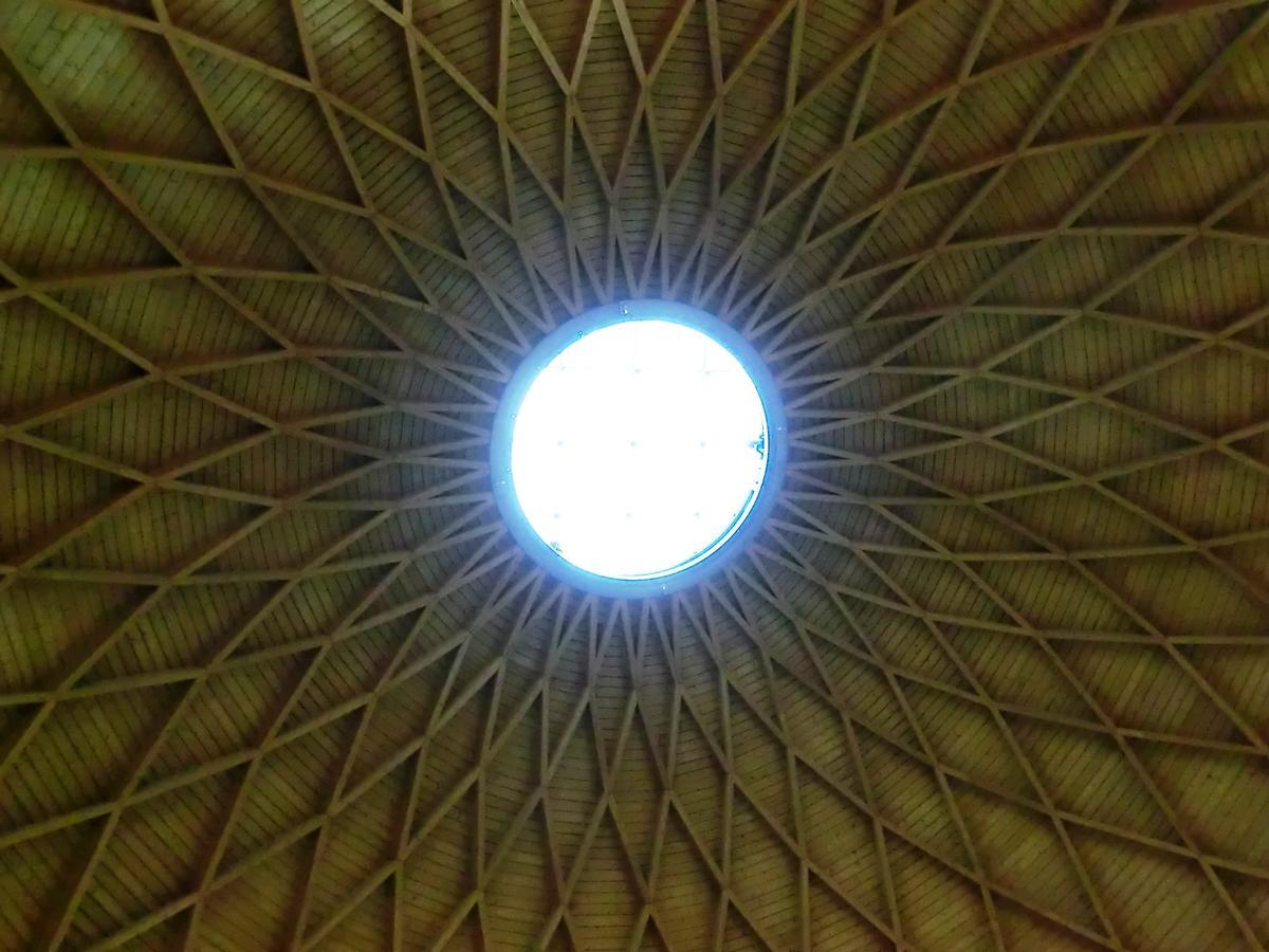 Coupôle du centre d'expositions de Rimini