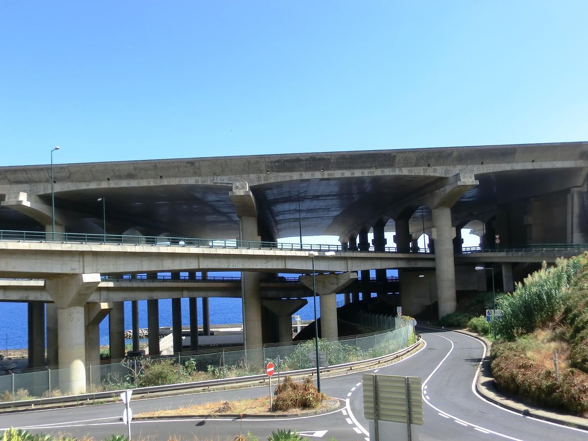 Madeira airport runway bridge (above) and VR1 Seixo Viaduct