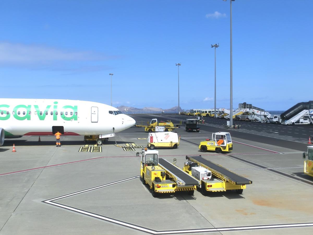 Madeira International Airport Cristiano Ronaldo (Santa Cruz
