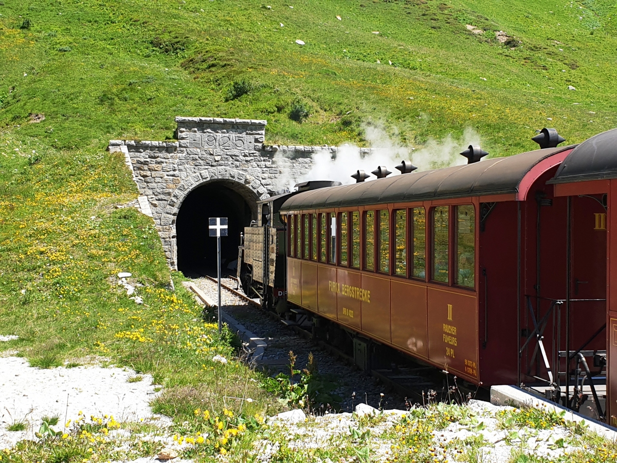 Media File No. 345650 Furka Tunnel western portal