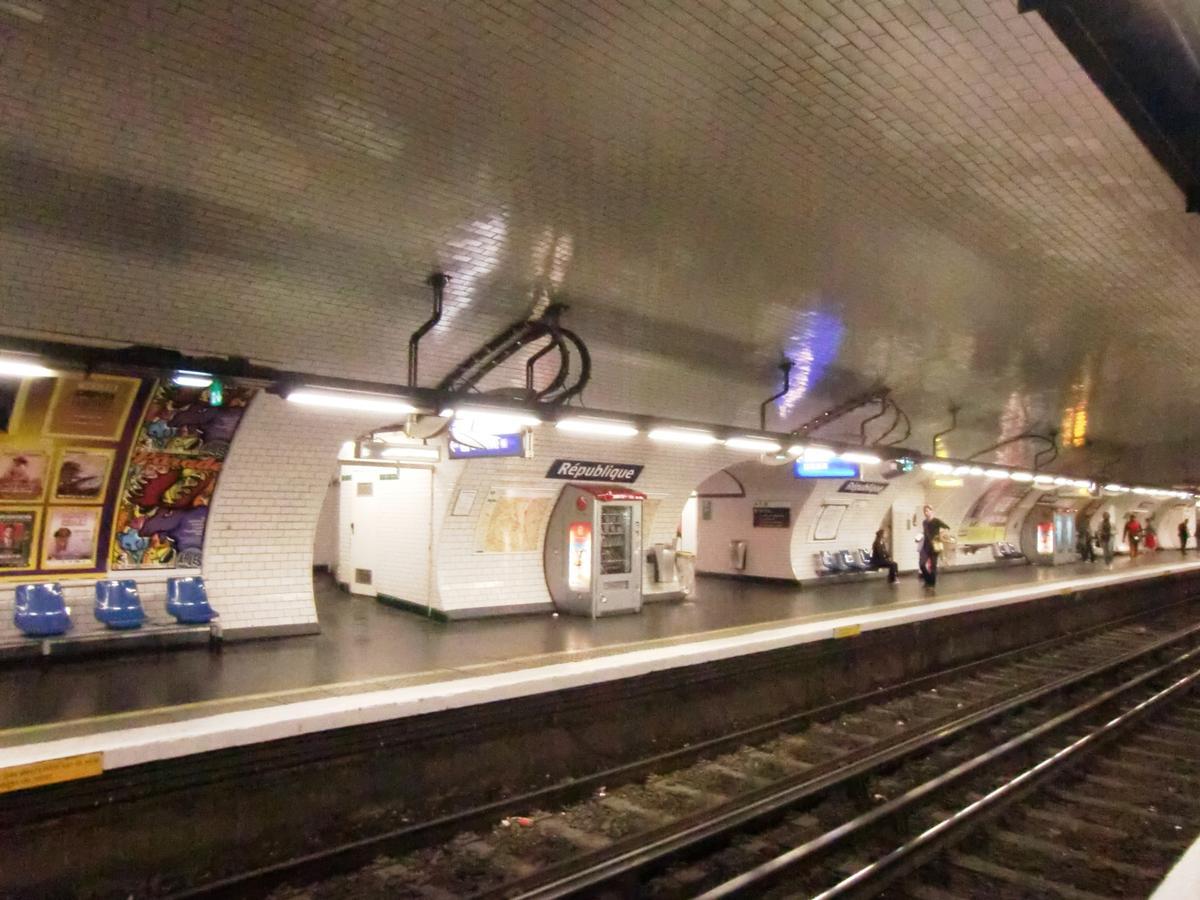 Metrobahnhof République