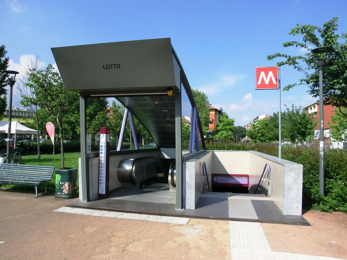 Station de métro Lotto