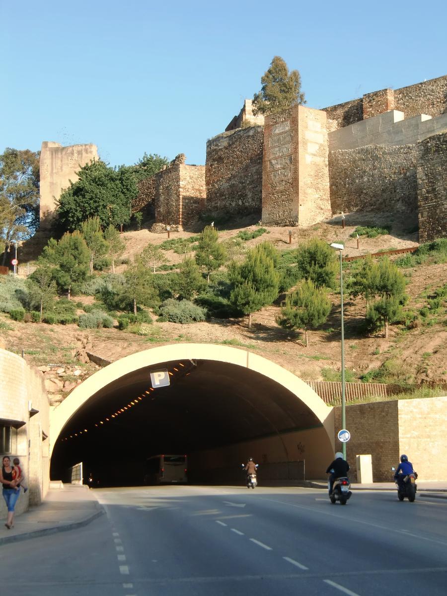 Tunel de la Alcazaba western portal