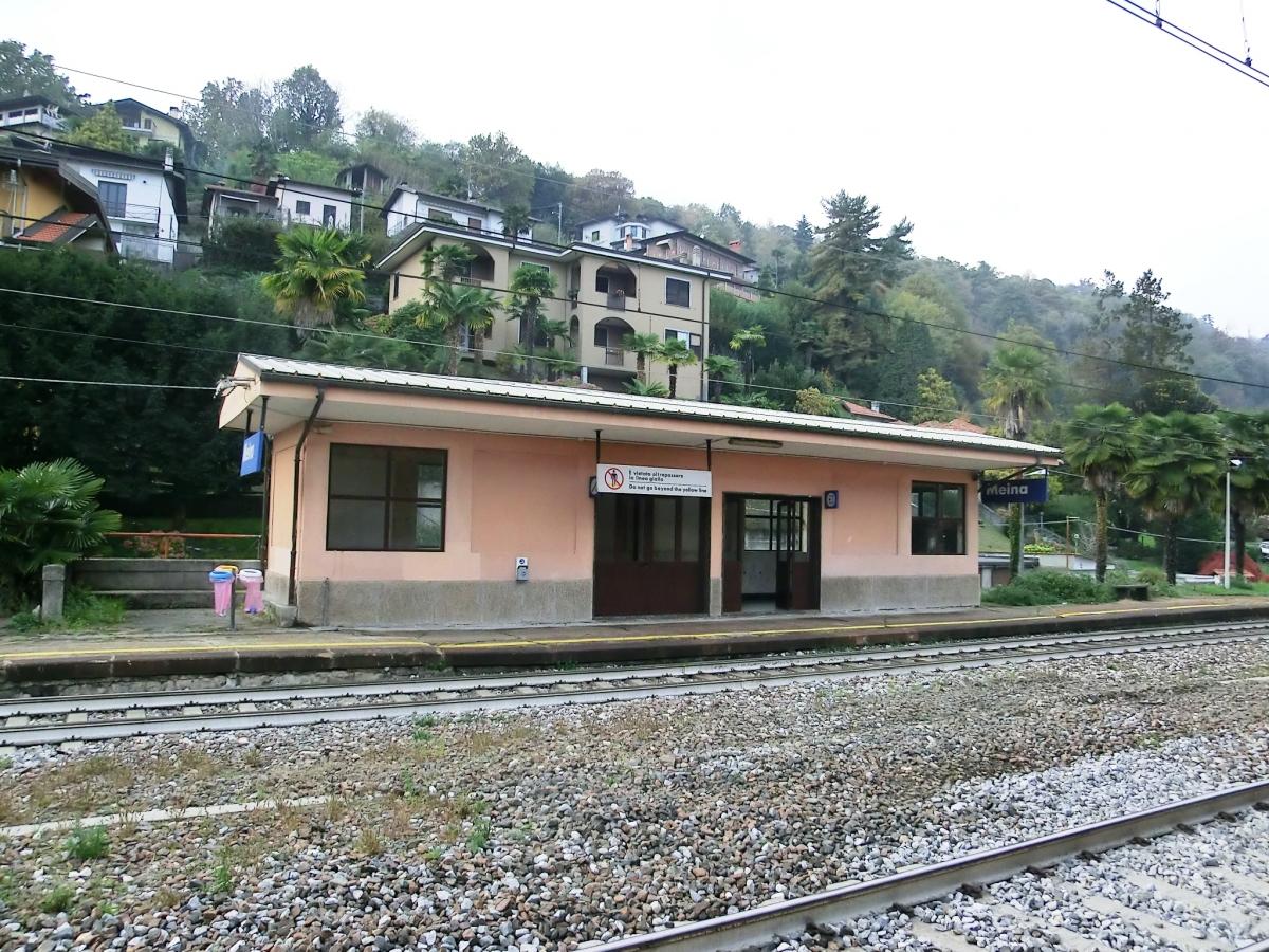 Bahnhof Meina