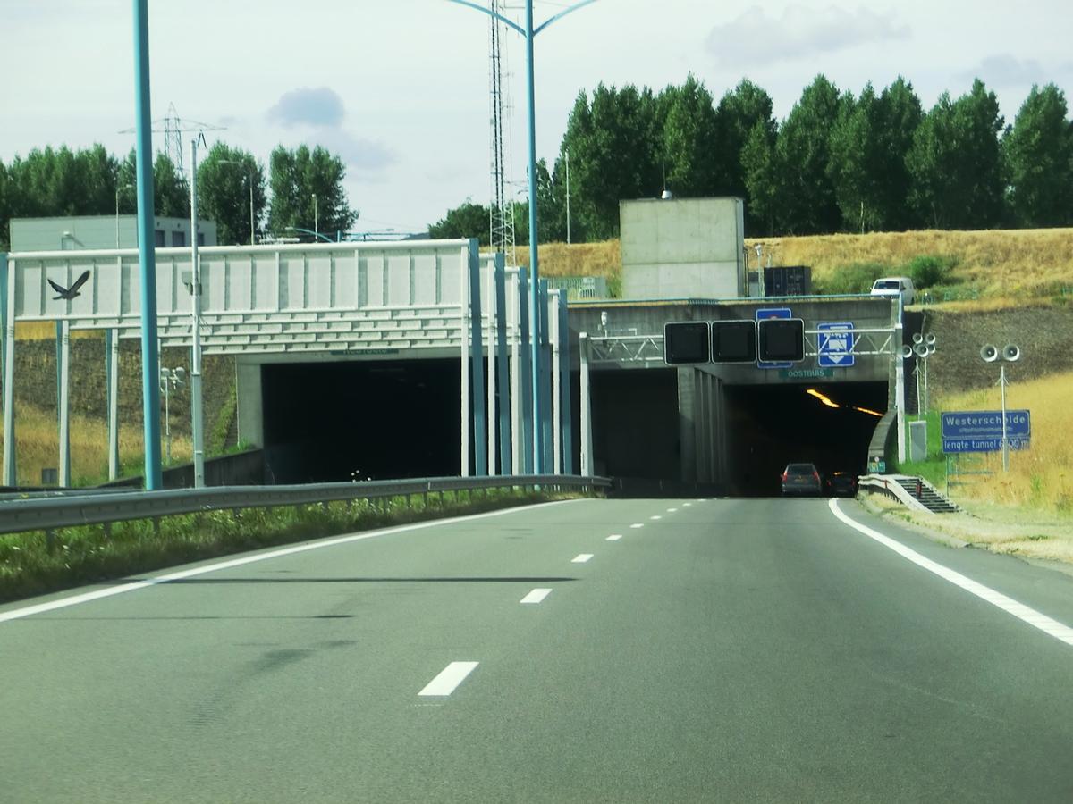 Westerschelde Tunnel southern portals