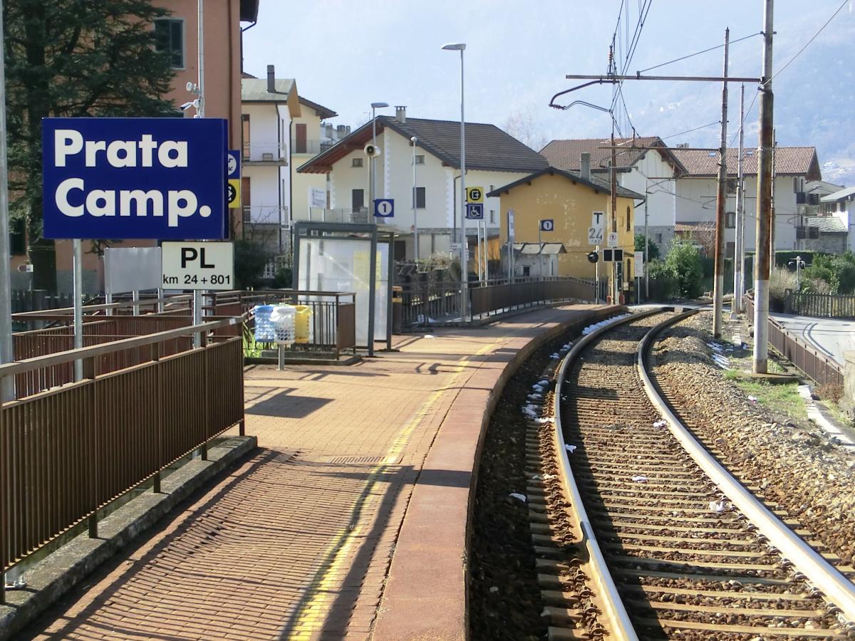 Prata Camportaccio Station