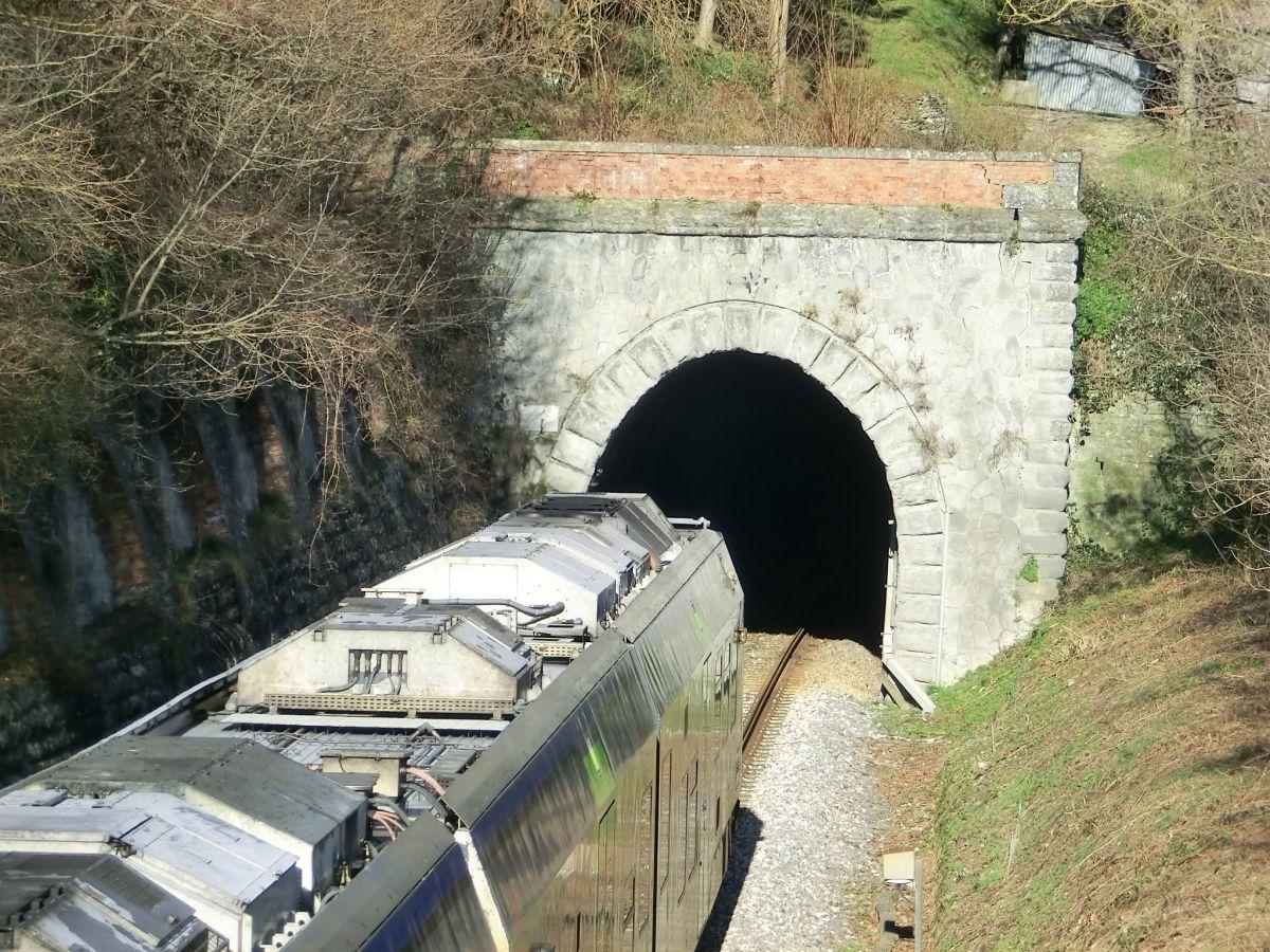 Annunziata Tunnel southern portal