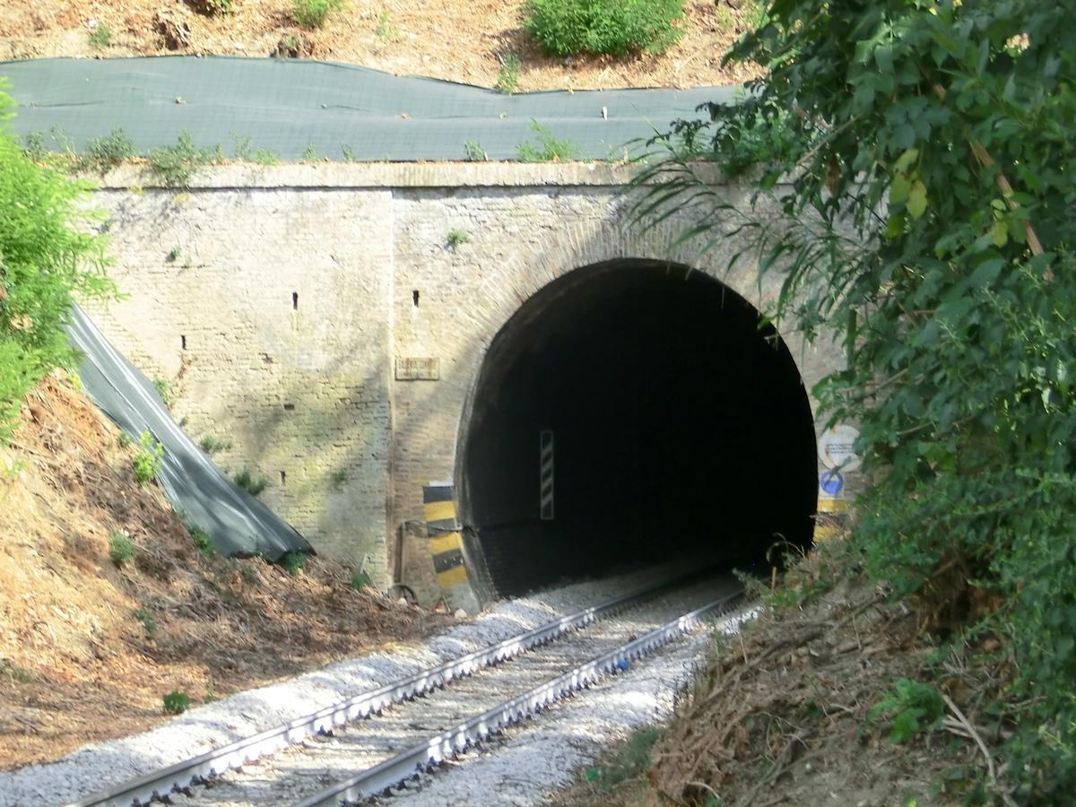 Convitto Tunnel western portal