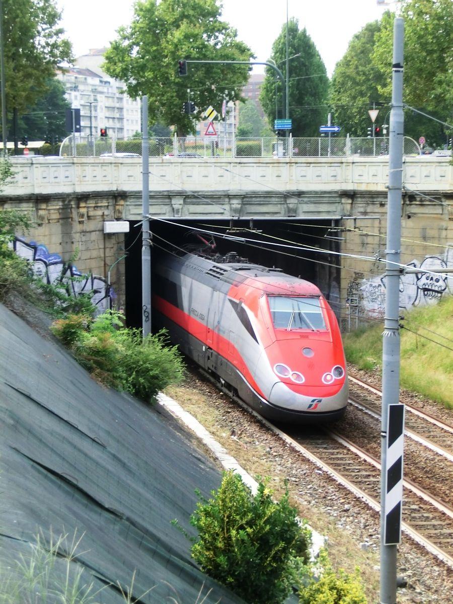 Diretta Tunnel eastern portal