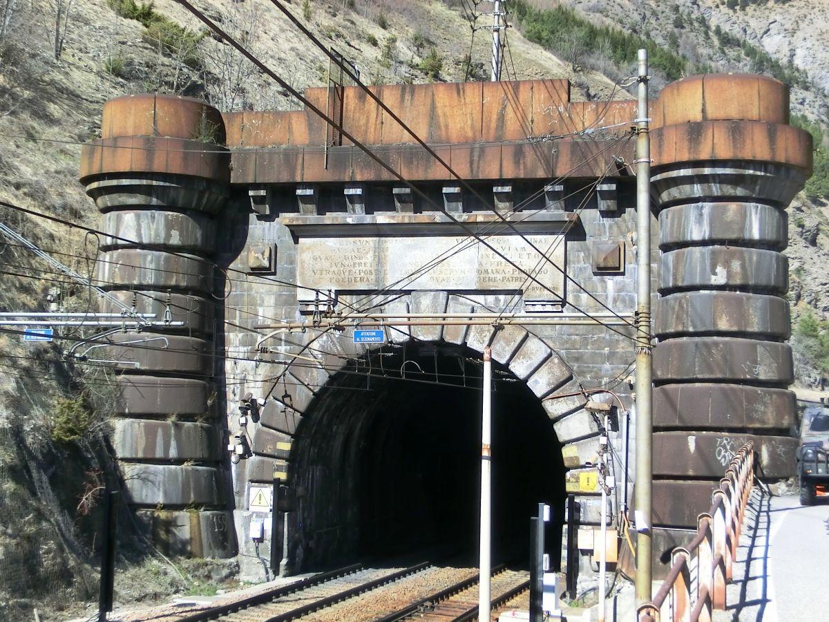 Frejus railway Tunnel italian portal