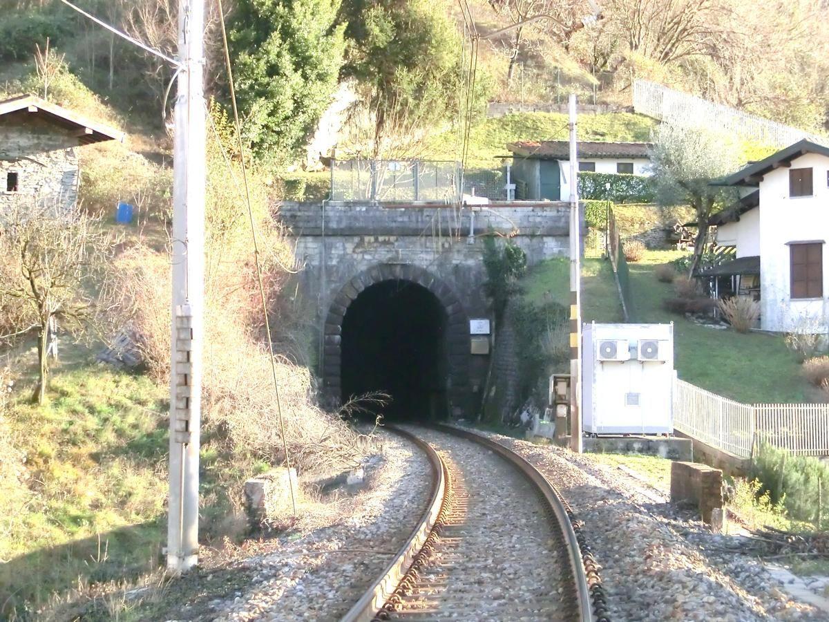Olcio Tunnel northern portal