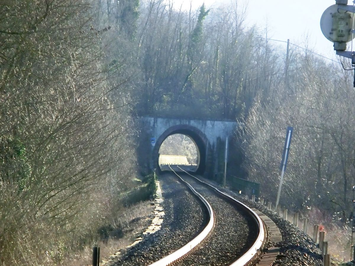 Tagliaferro Tunnel northern portal