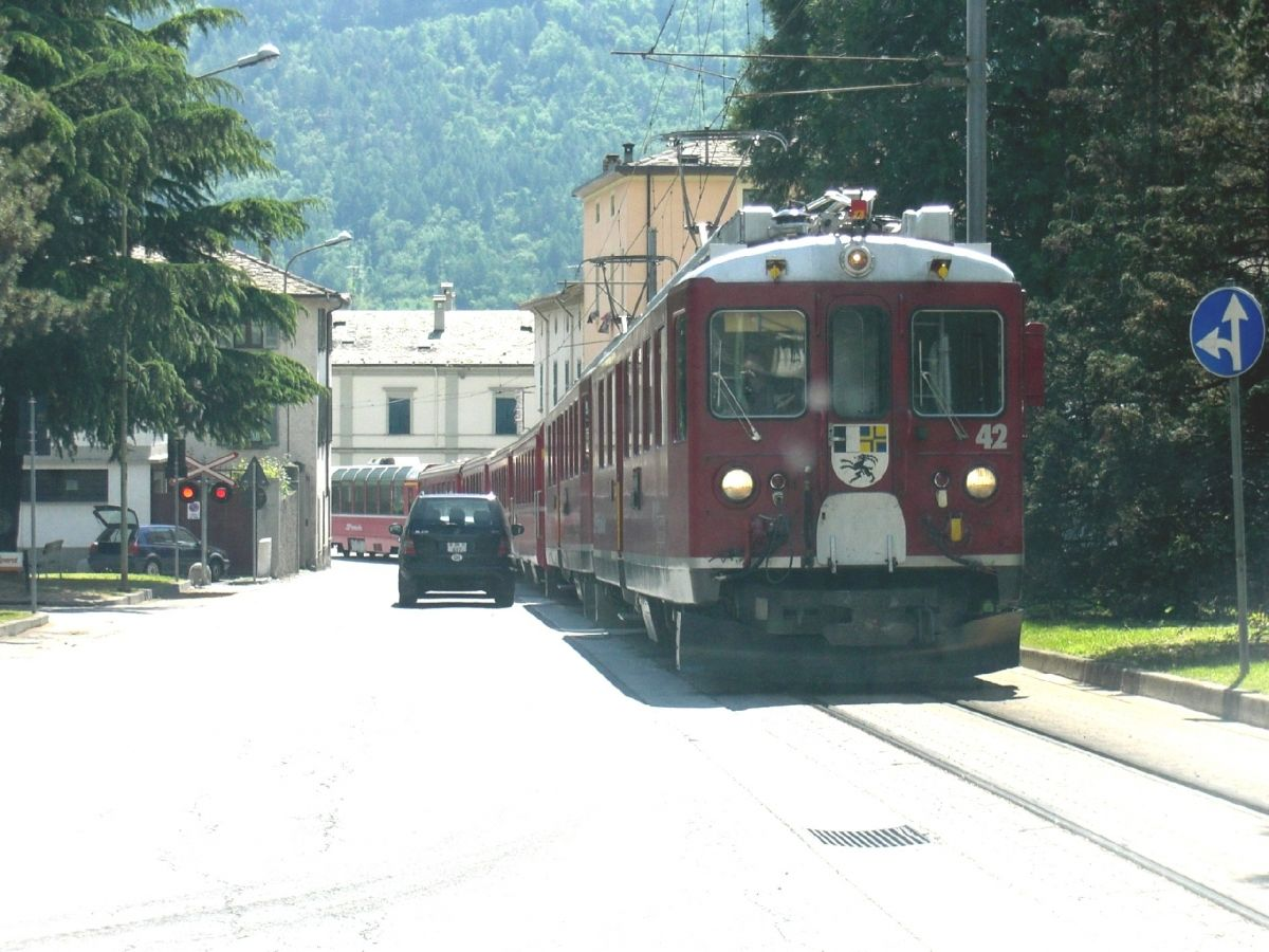 Bernina Line at Tirano