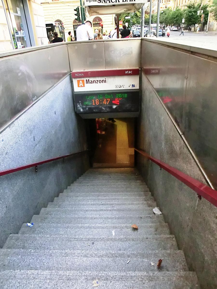 Metrobahnhof Manzoni