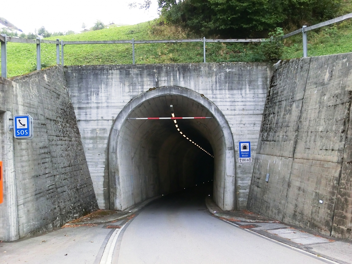 Mompé-Medel Tunnel northern portal