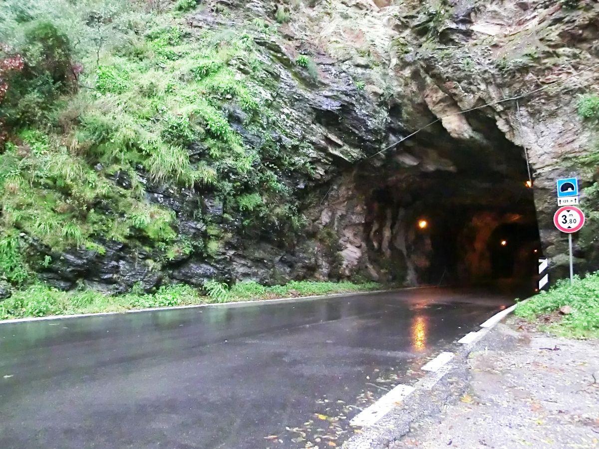 Retignano Tunnel north-western portal