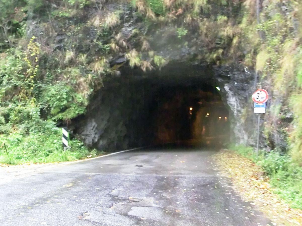 Retignano Tunnel south-eastern portal
