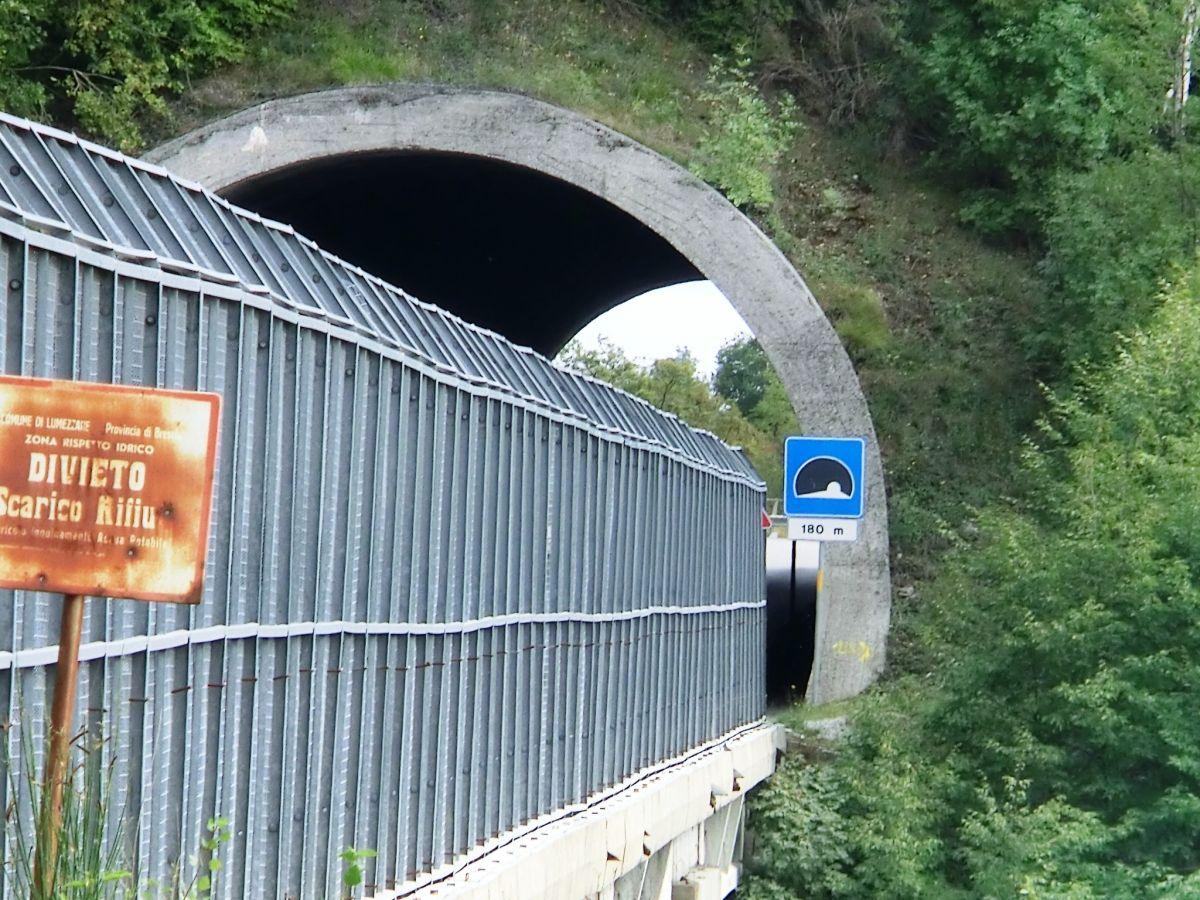 Lumezzane I Tunnel western portal