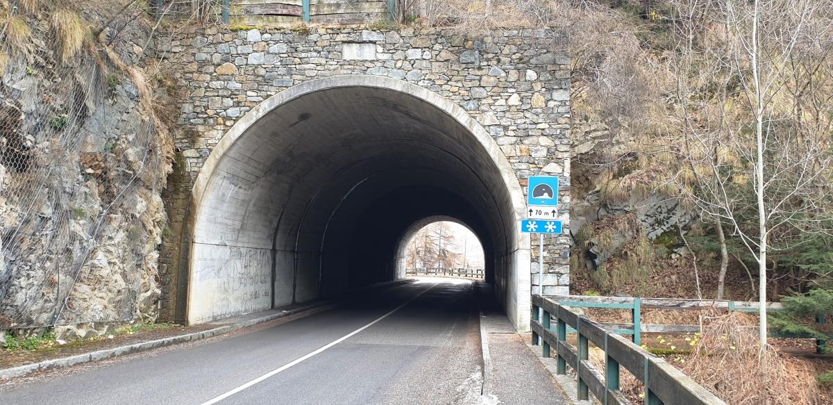Paspardo Tunnel eastern portal
