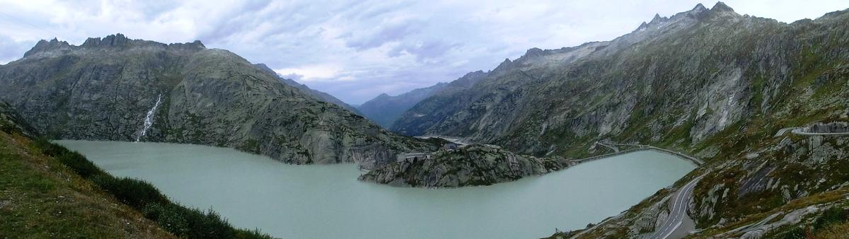 Spitallamm Dam and Grimsel lake