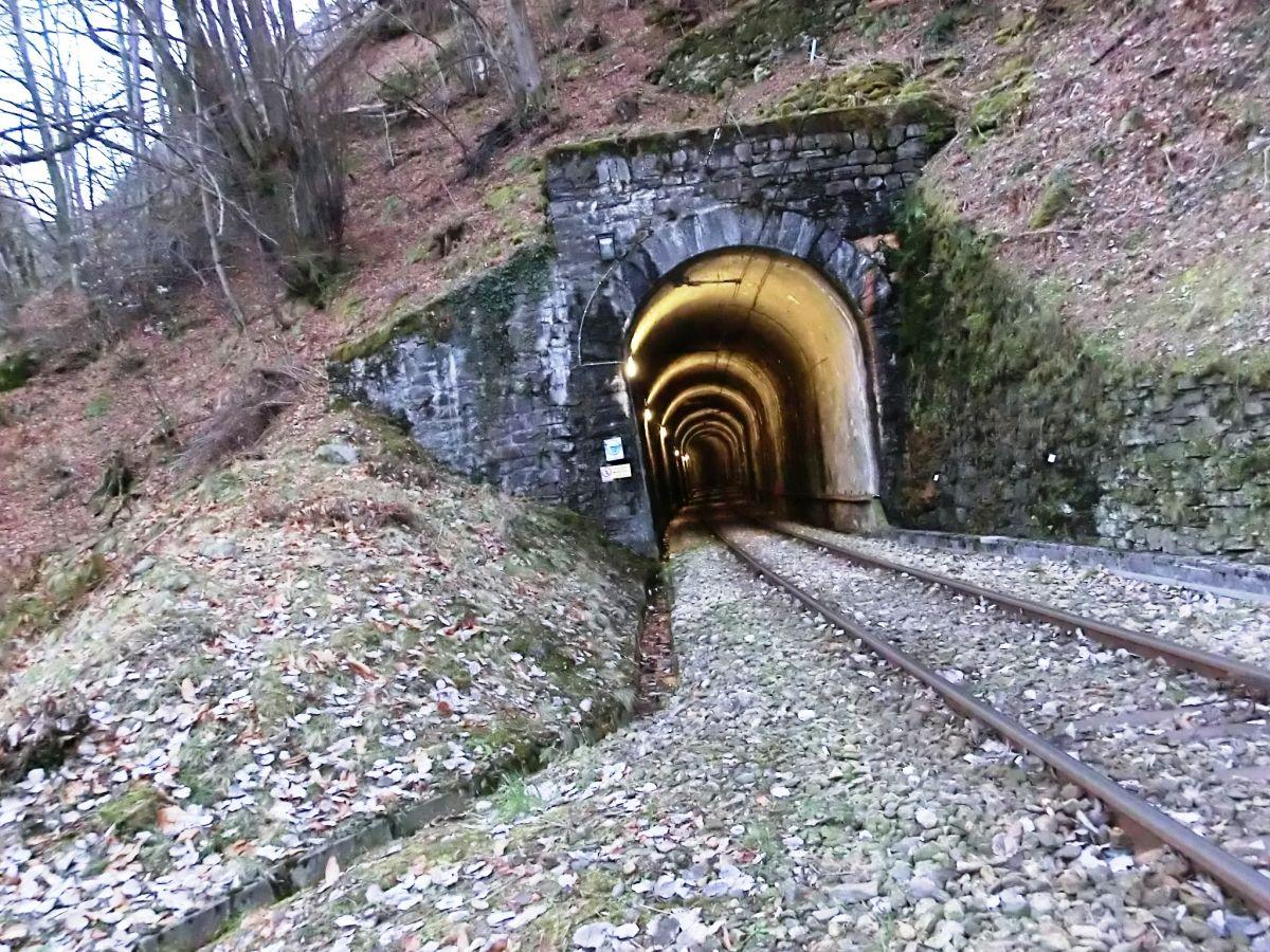 Mergologio Tunnel northern portal