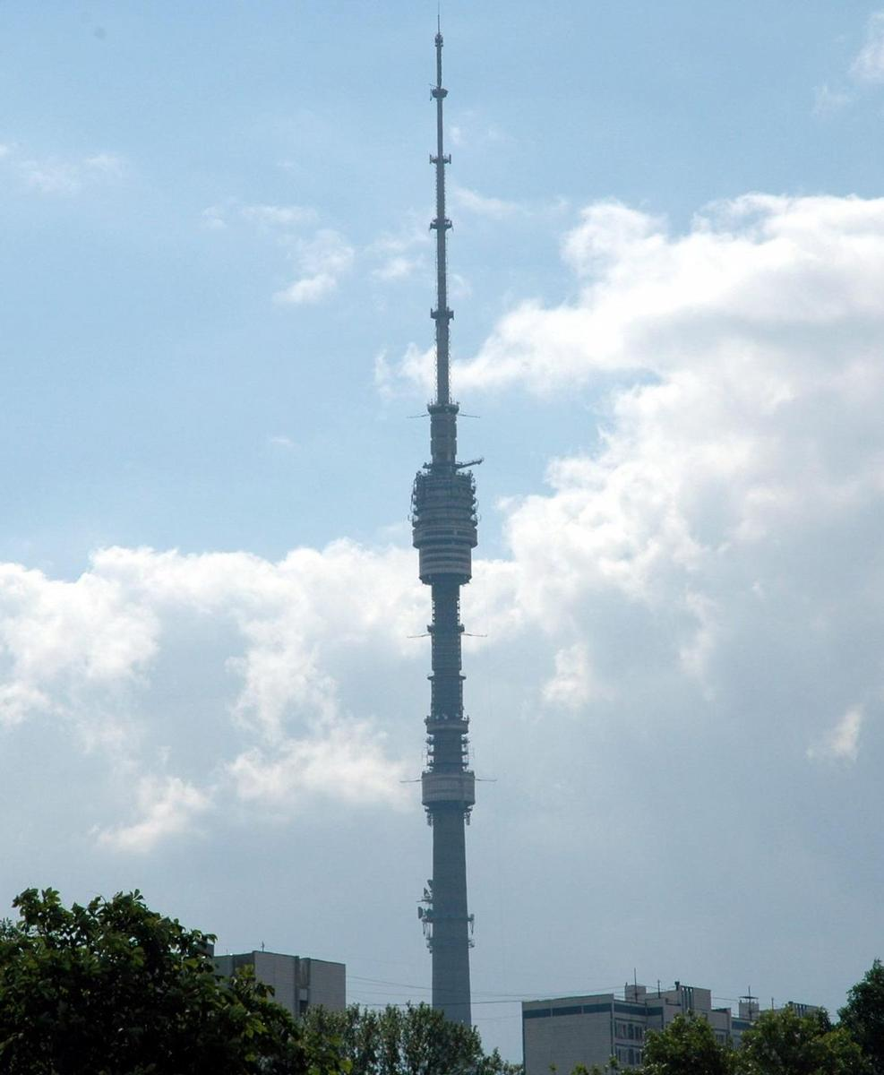 Ostankino Tower, Moscow.