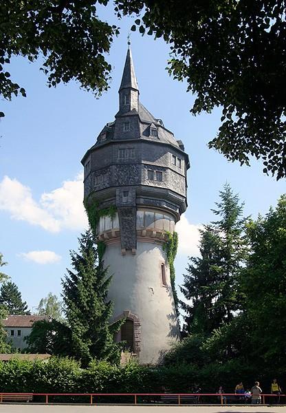 Eschersheimer Wasserturm in Frankfurt am Main