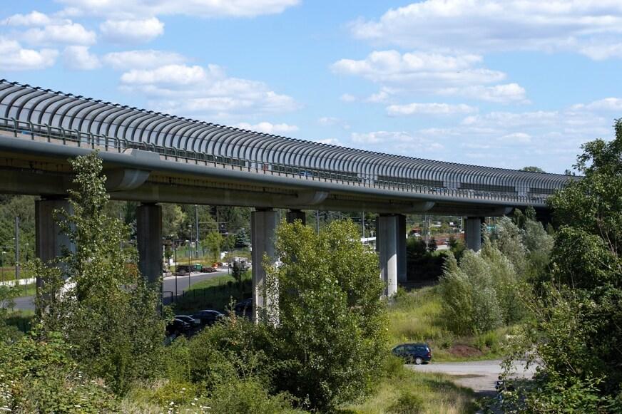 Viaduc de Seckbach, Francfort