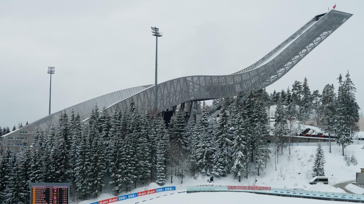 Größte Skiflugschanze