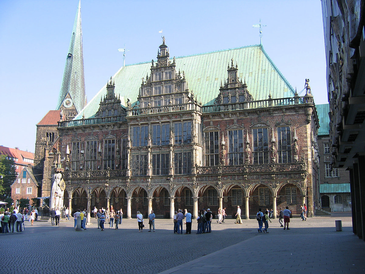 South face of Old Bremen City Hall