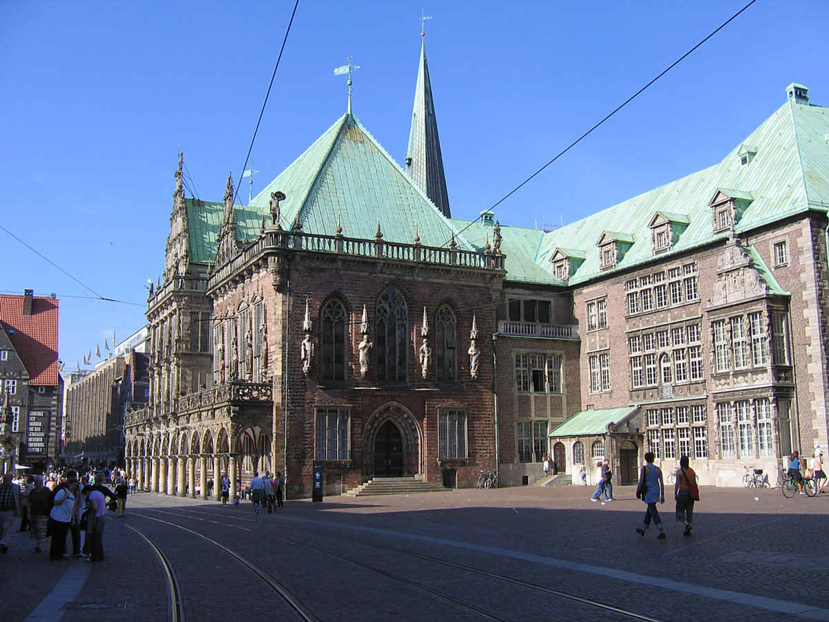 East face of New & Old Bremen City Hall