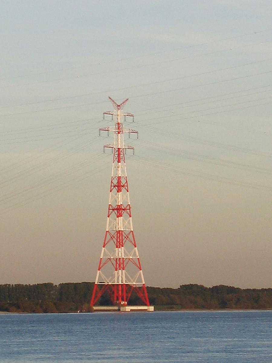 Pylon for the High-voltage Elbe crossing 2