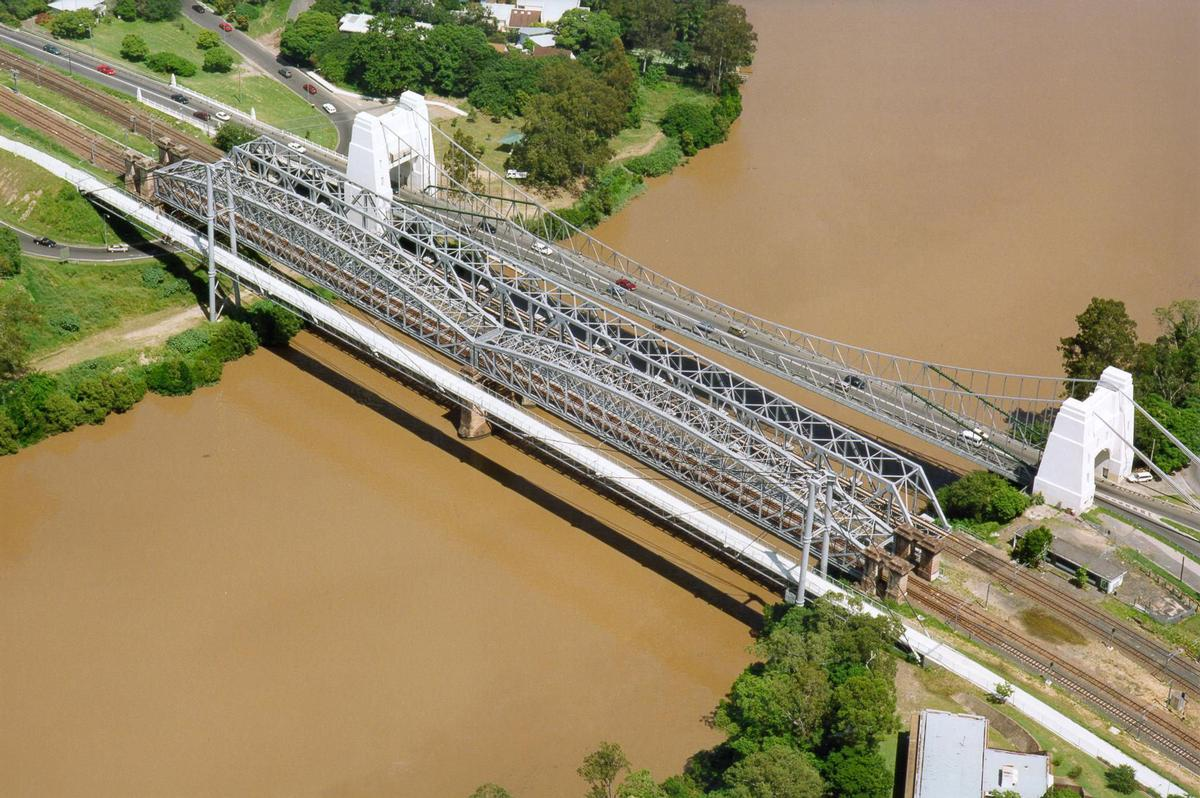 Jack Pesch Bridge, Walter Taylor Bridge & Albert Bridge, Brisbane